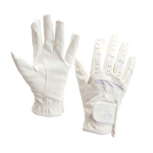 Horka Men's Domy-Suede Gloves White