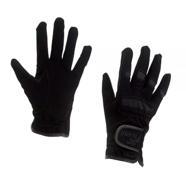 Horka Men's Domy-Suede Gloves Black