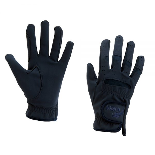 Horka Men's Domy-Suede Gloves Navy Blue