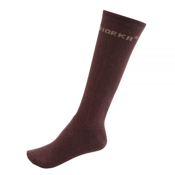 Horka Men's Riding Socks Choco Brown
