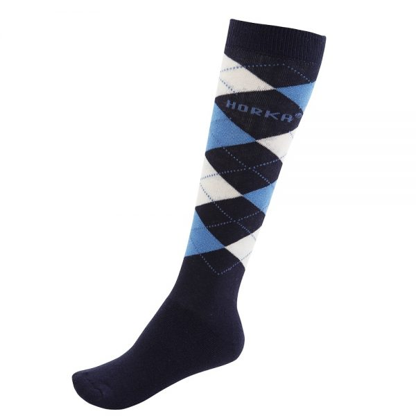 Horka Men's Riding Socks Dark Marine