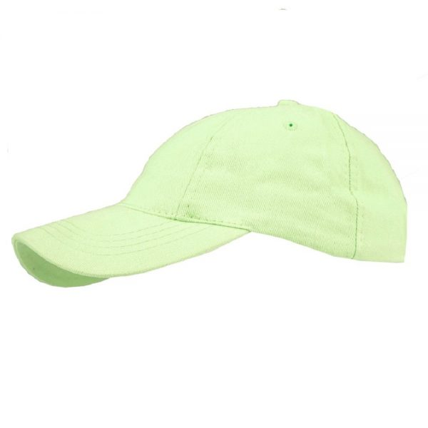 Horka Summer BaseBall Cap Lime Green