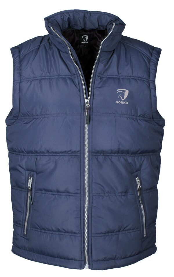 Horka Men's Practical Body Warmer Navy Blue