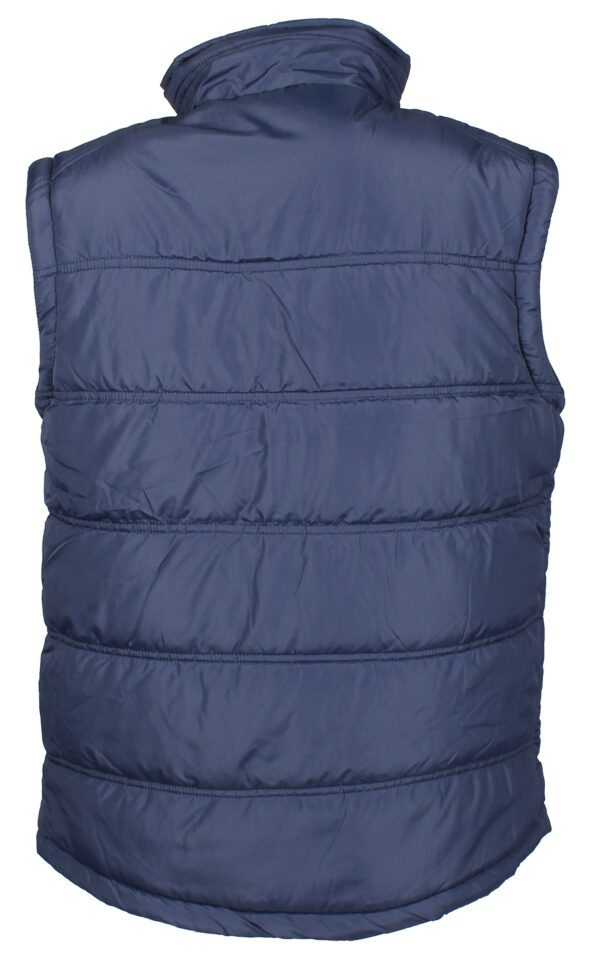 Horka Men's Practical Body Warmer Navy Blue Back