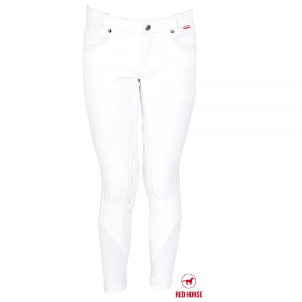 Red Horse Boy's Kevin Breech White Front