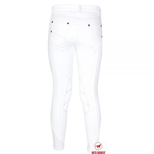 Red Horse Boy's Kevin Breech White Back