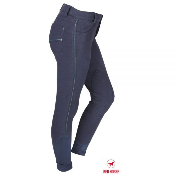 Red Horse Boy's Kevin Breech Navy Right Side