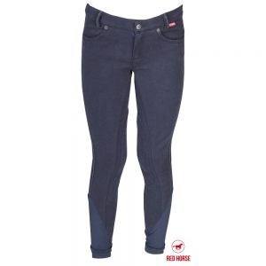 Red Horse Boy's Kevin Breech Navy Front