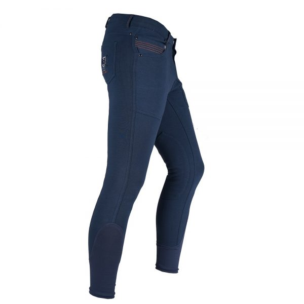 Red Horse Boy's Aiden Breech Dark Denim Right Side