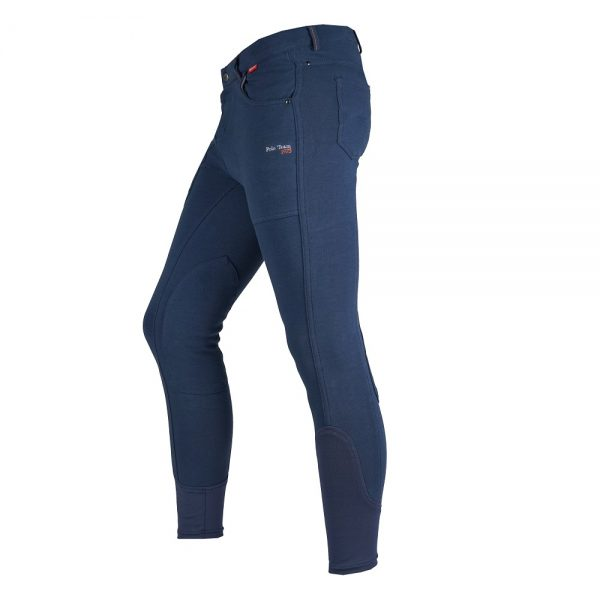 Red Horse Boy's Aiden Breech Dark Denim Left Side