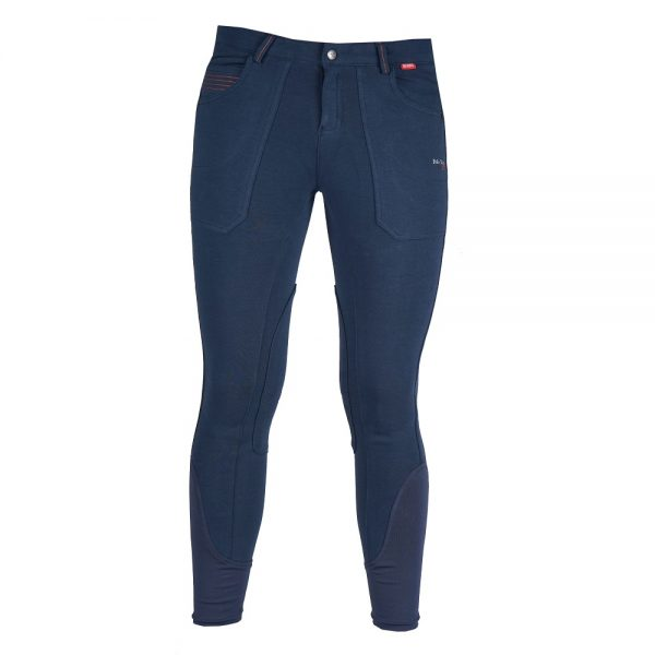 Red Horse Boy's Aiden Breech Dark Denim Front