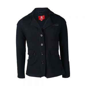 Red Horse Boy's Jump Jacket Black