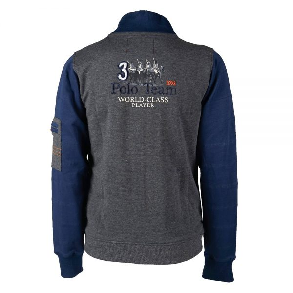 Red Horse Boy's Arjan Sweater Anthracite Back