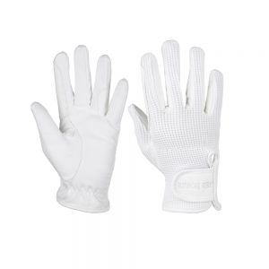 Red Horse Amico Gloves White