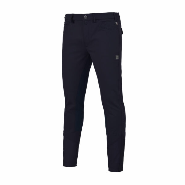 KEITH K-TECL breeches, men, with full seat, Navy