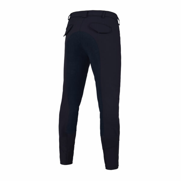 KEITH K-TECL breeches, men, with full seat, Navy, Rear Veiw