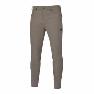 Kingsland Men's Kenton Breeches with Knee Patches, Beige