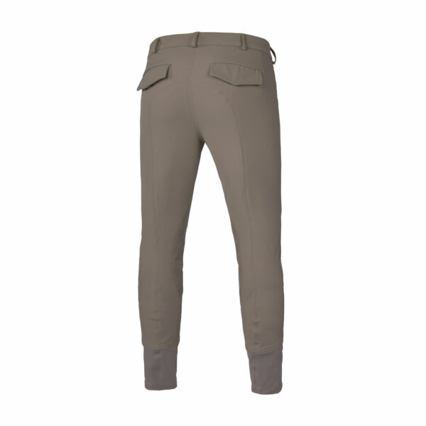 Kingsland Men's Kenton Breeches with Knee Patches, Beige, Back View