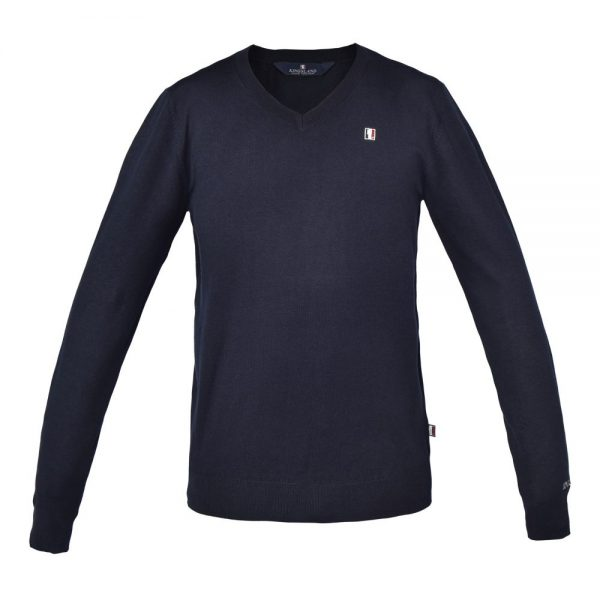 Kingsland Men's Classic Knitted Jumper Navy