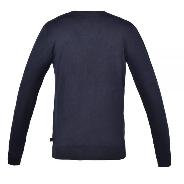 Kingsland Men's Classic Knitted Jumper Navy Back