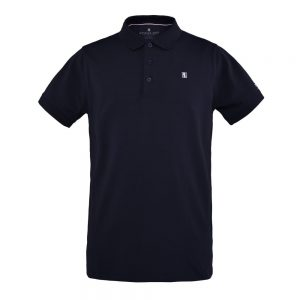 Kingsland Men's Classic Pique Polo Shirt Navy