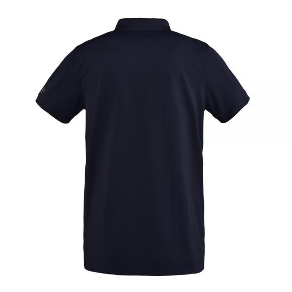 Kingsland Men's Classic Pique Polo Shirt Navy Back