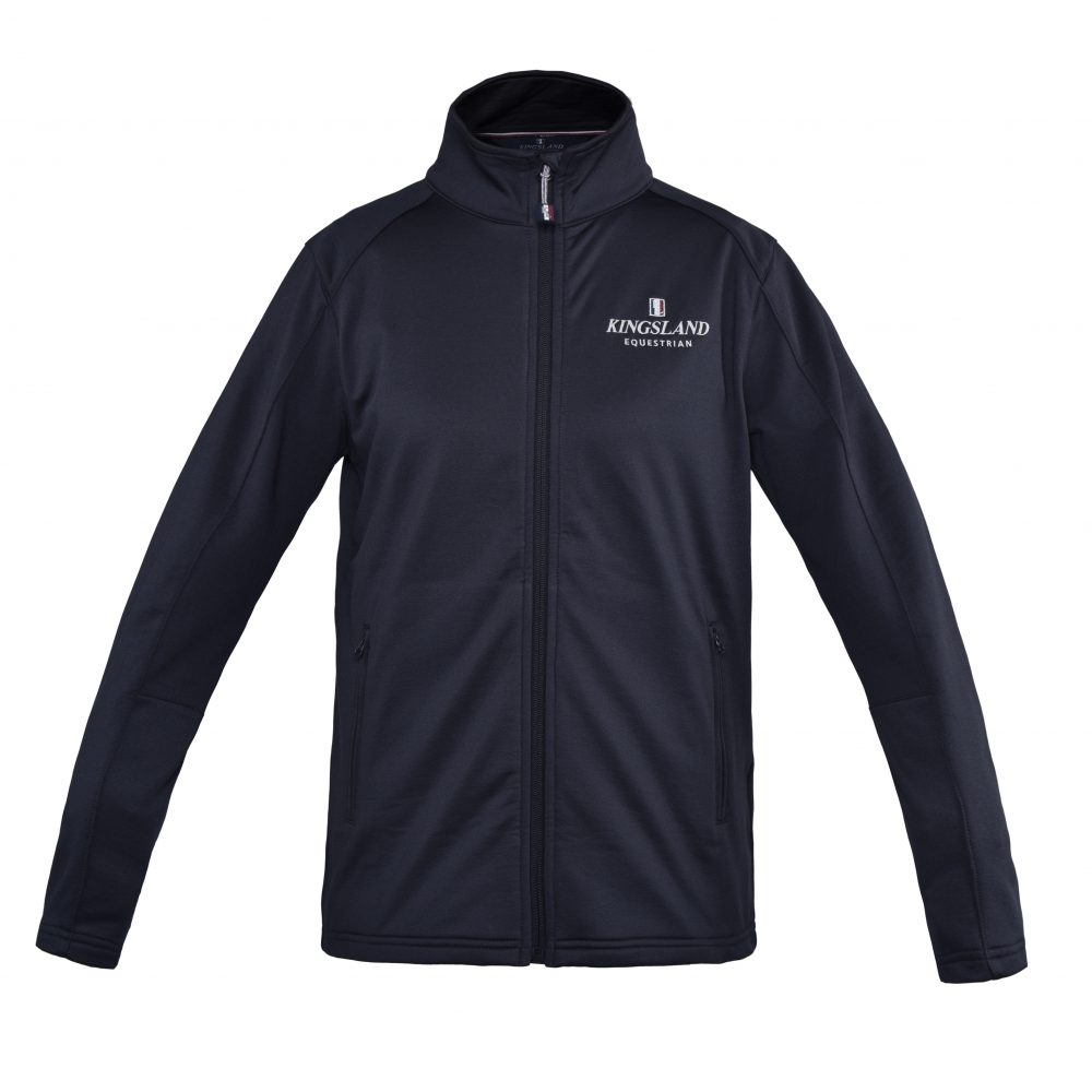 Kingsland Men's Classic Light Fleece Jacket Navy