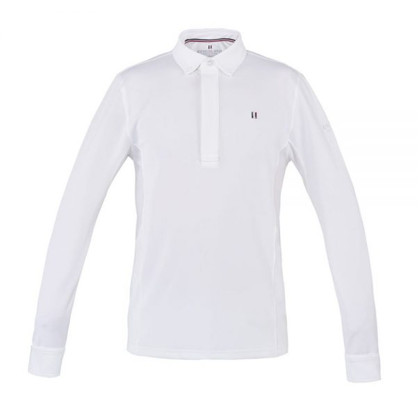 Kingsland Men's Classic Long Sleeve Show Shirt White