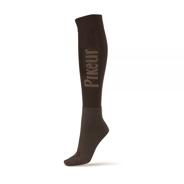 Pikeur Long Socks Chocolate