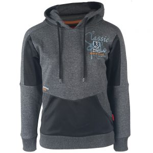 Red Horse Camden Hoodie Black Front