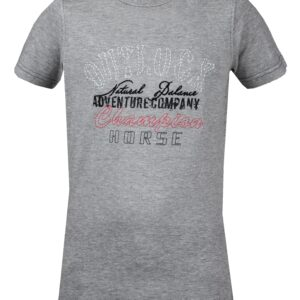 Red Horse Colorado T-Shirt, Grey
