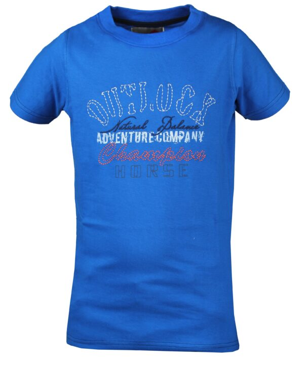 Red Horse Colorado T-Shirt, Royal Blue