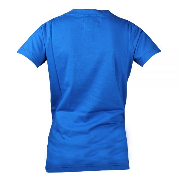 Red Horse Colorado T-Shirt Royal Blue Back