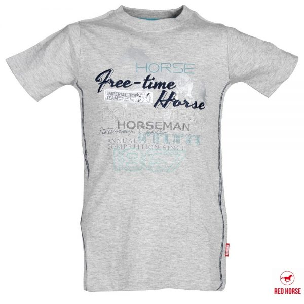 Red Horse Colorado T-Shirt Iron Front