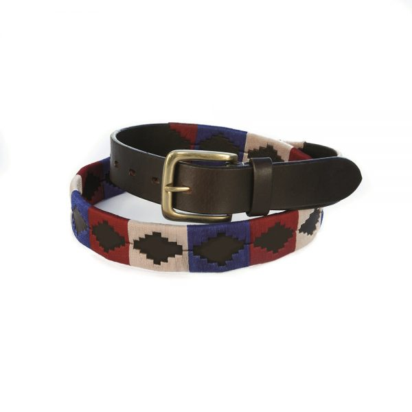 Chukka Belt Diego, Blue, Red and White