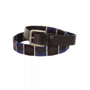 Chukka Belt Felipe, Black, Blue and White