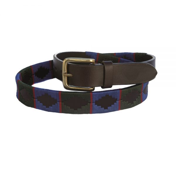Chukka Belt Gonzalo, Green, Blue and Red