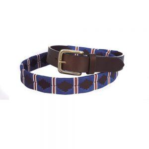 Chukka Belt Tiago Blue, White, Red
