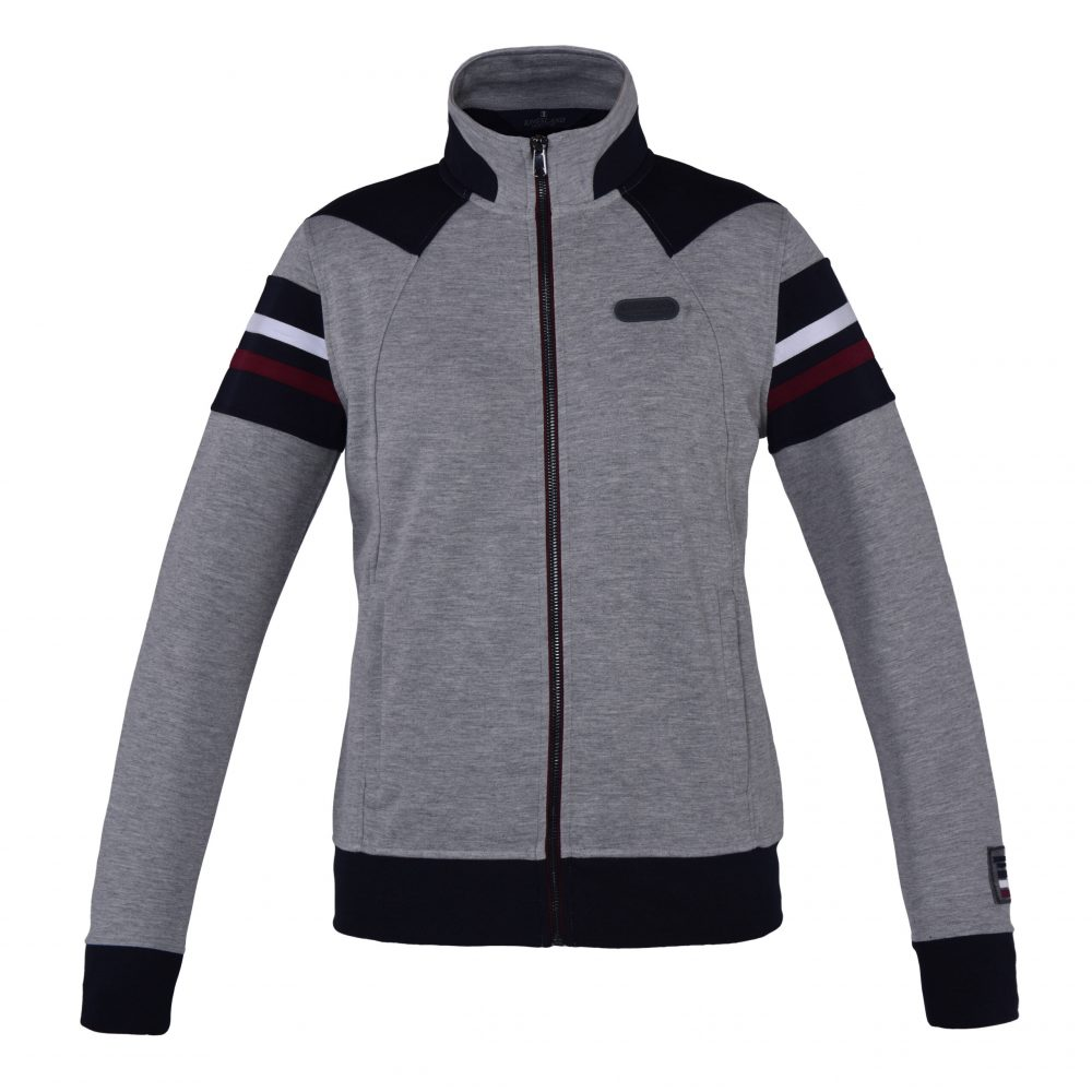 Kingsland Aspe Sweat Jacket Grey
